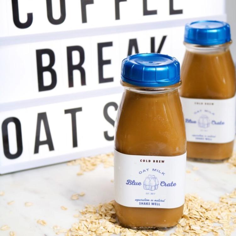 Blue Crate Oat Milk