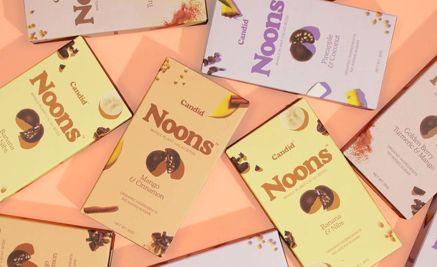 Candid launches NOONS whole-plant chocolate snacks   2020-05-05   Candy Industry