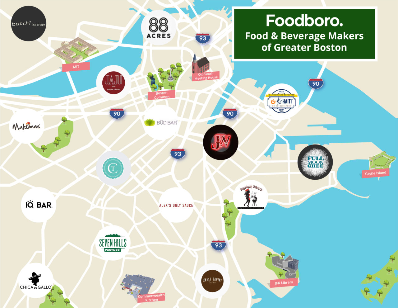 15 of Boston's Hottest Emerging Food and Beverage Companies