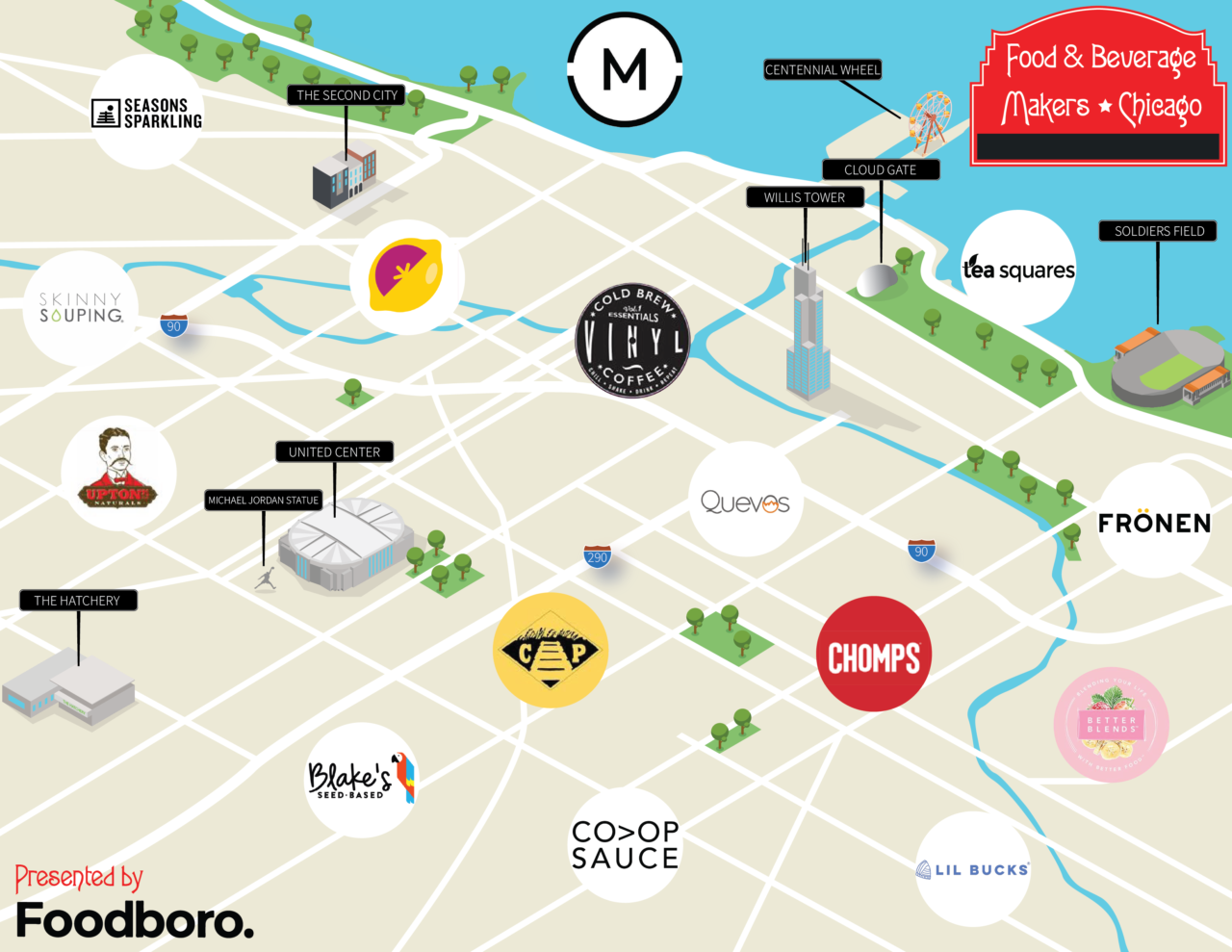 15 of Chicago's Hottest Emerging Food and Beverage Companies