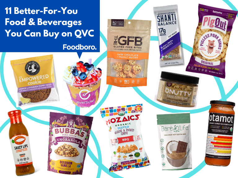 11 Better-For-You Food & Beverages You Can Buy on QVC