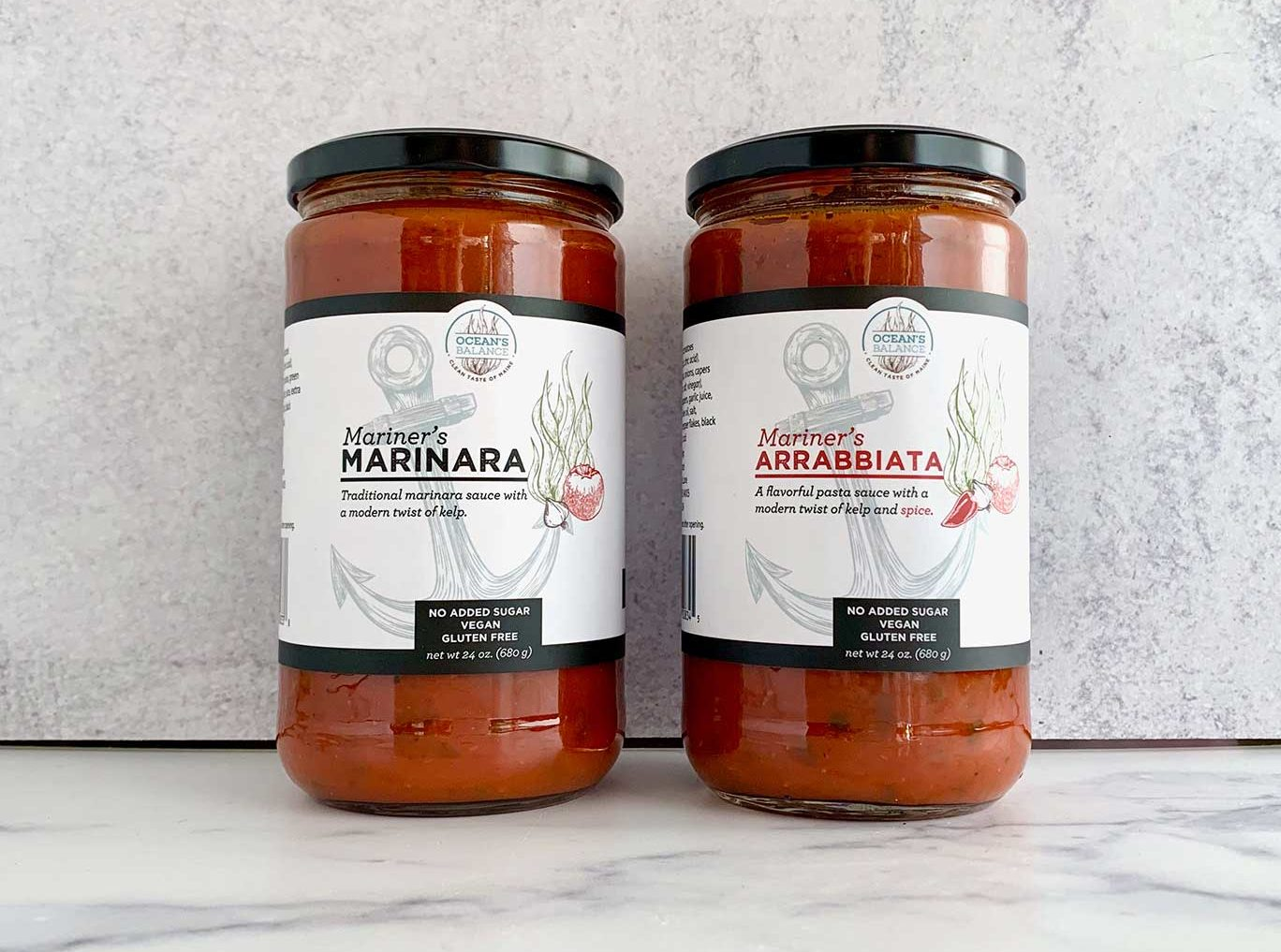 Ocean's Balance Releases Mariner's Pasta Sauces