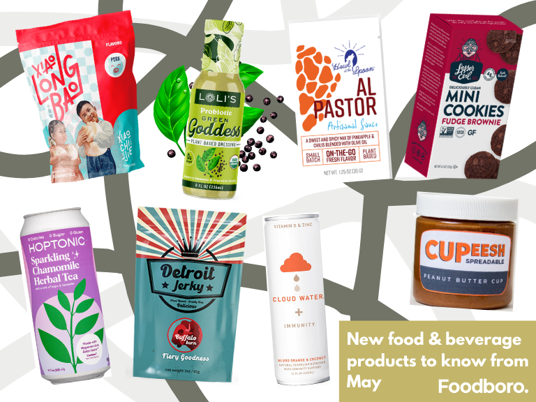 New Food & Beverage Product Spotlight - May 2021