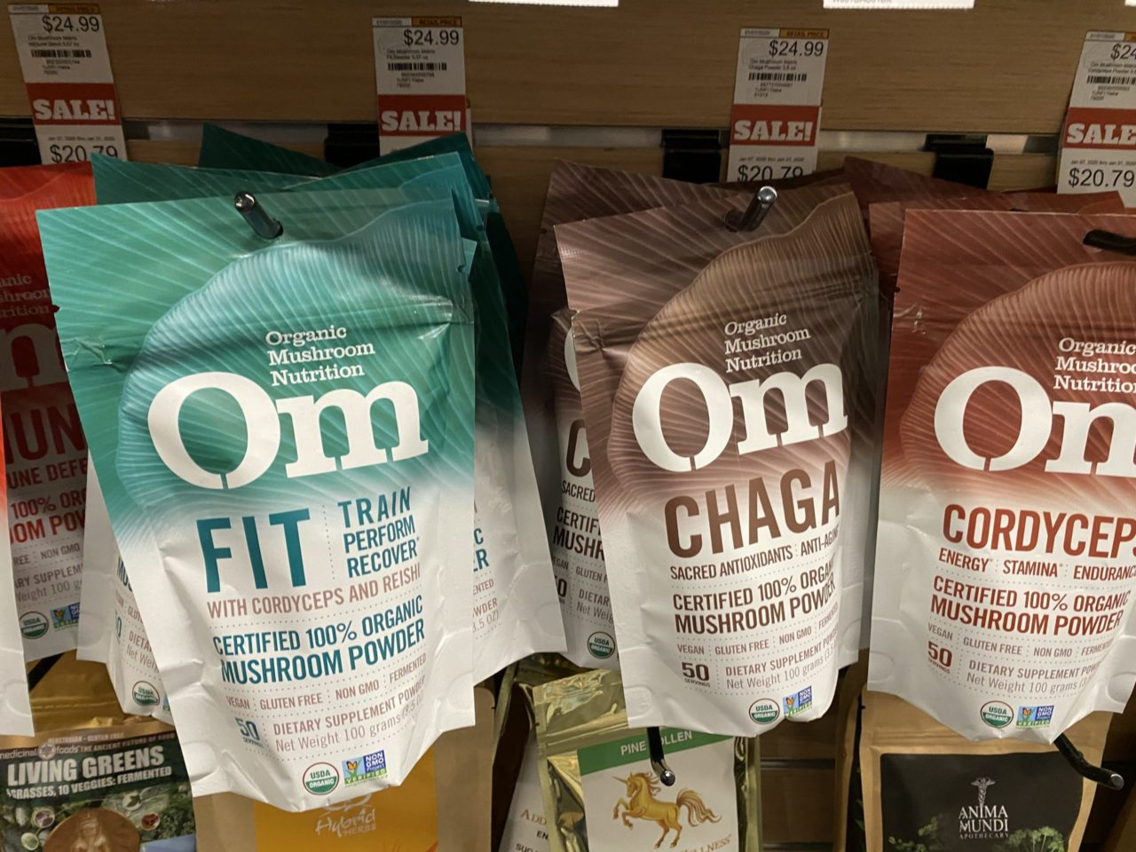 As Seen on the Shelves: Mushrooms Making Moves