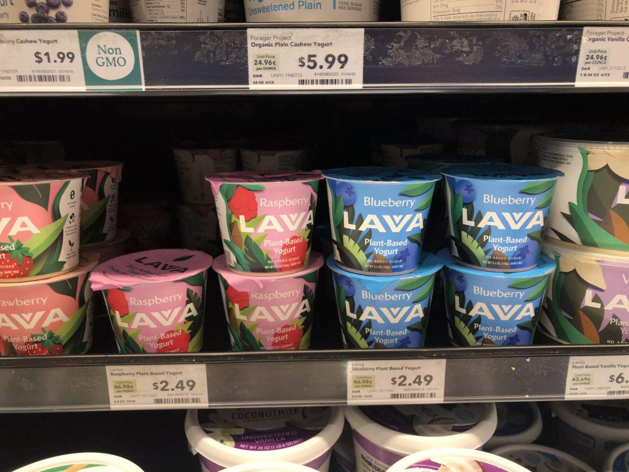 As Seen on the Shelves: Plant-Based Yogurt