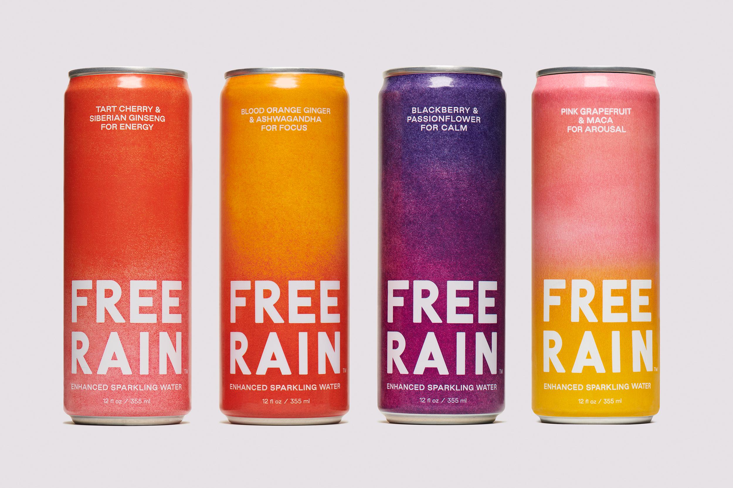 Enhanced Sparkling Water Brand FREE RAIN Announces Launch of 'Arousal'