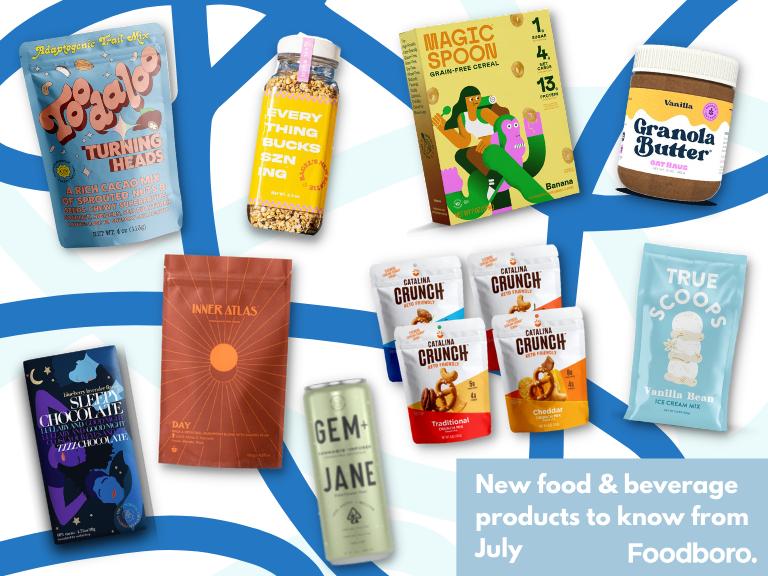 New Food & Beverage Product Spotlight - July 2021