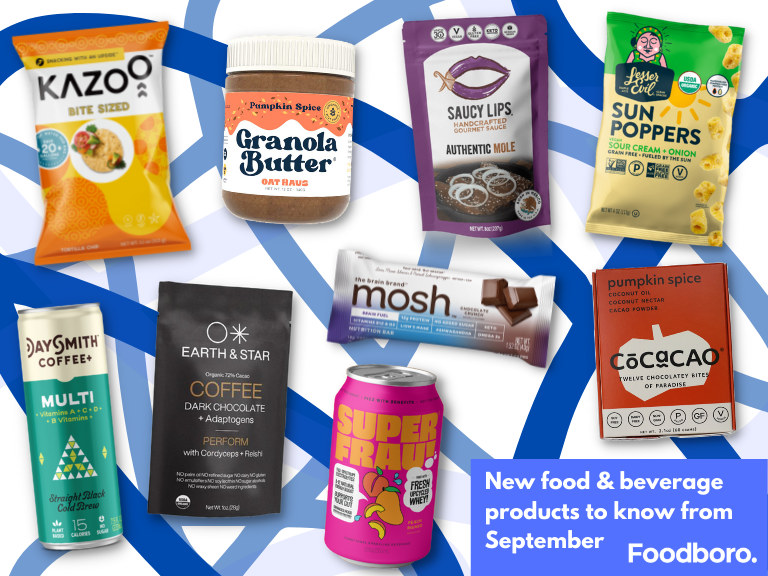 New Food & Beverage Product Spotlight - September 2021