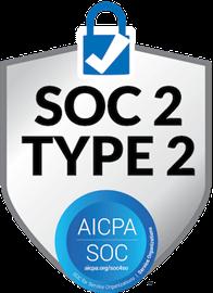 SOC2 Type 2 badge