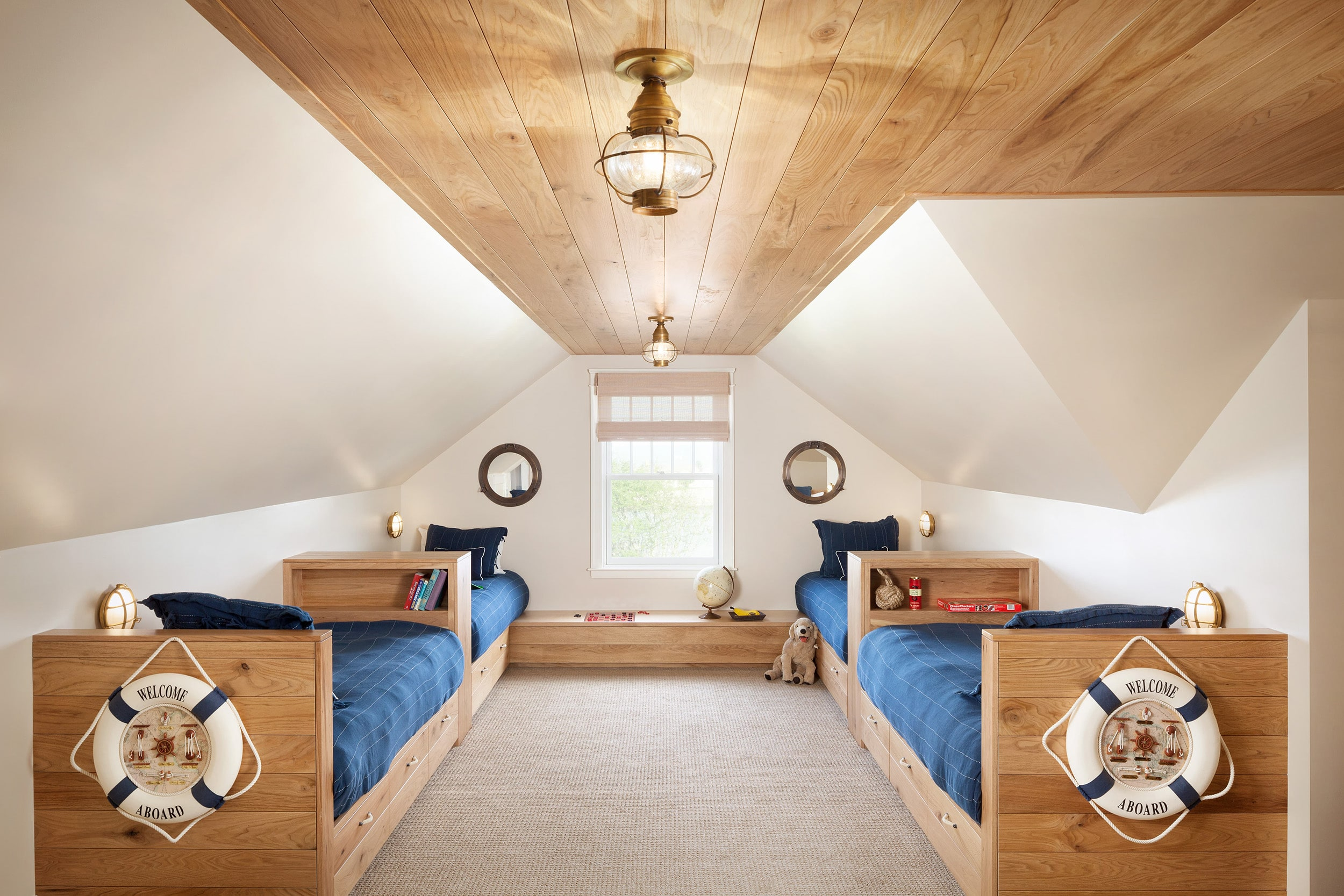 Traditional style home upstairs bedroom
