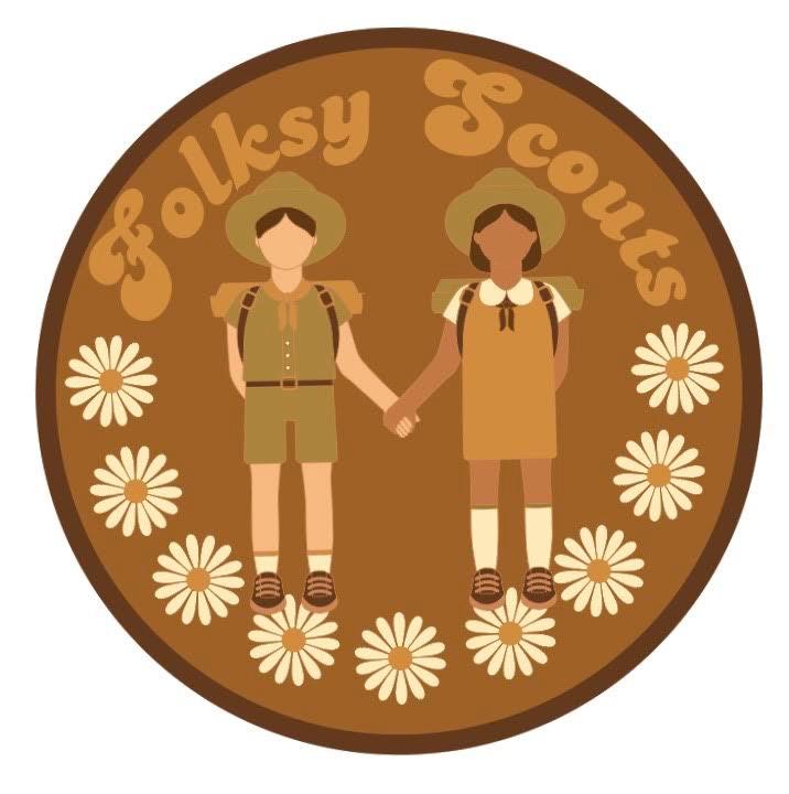 Folksy Scout Logo