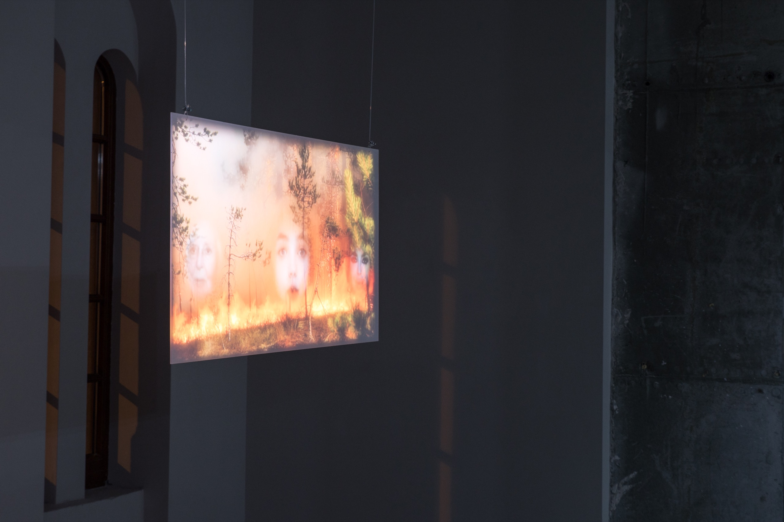 Maria Guta, 'Keeping up With the Apocalypse', 2021, video-installation, 4:10 min.