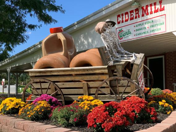 Picture of Wiard's Cider Mill storefront.