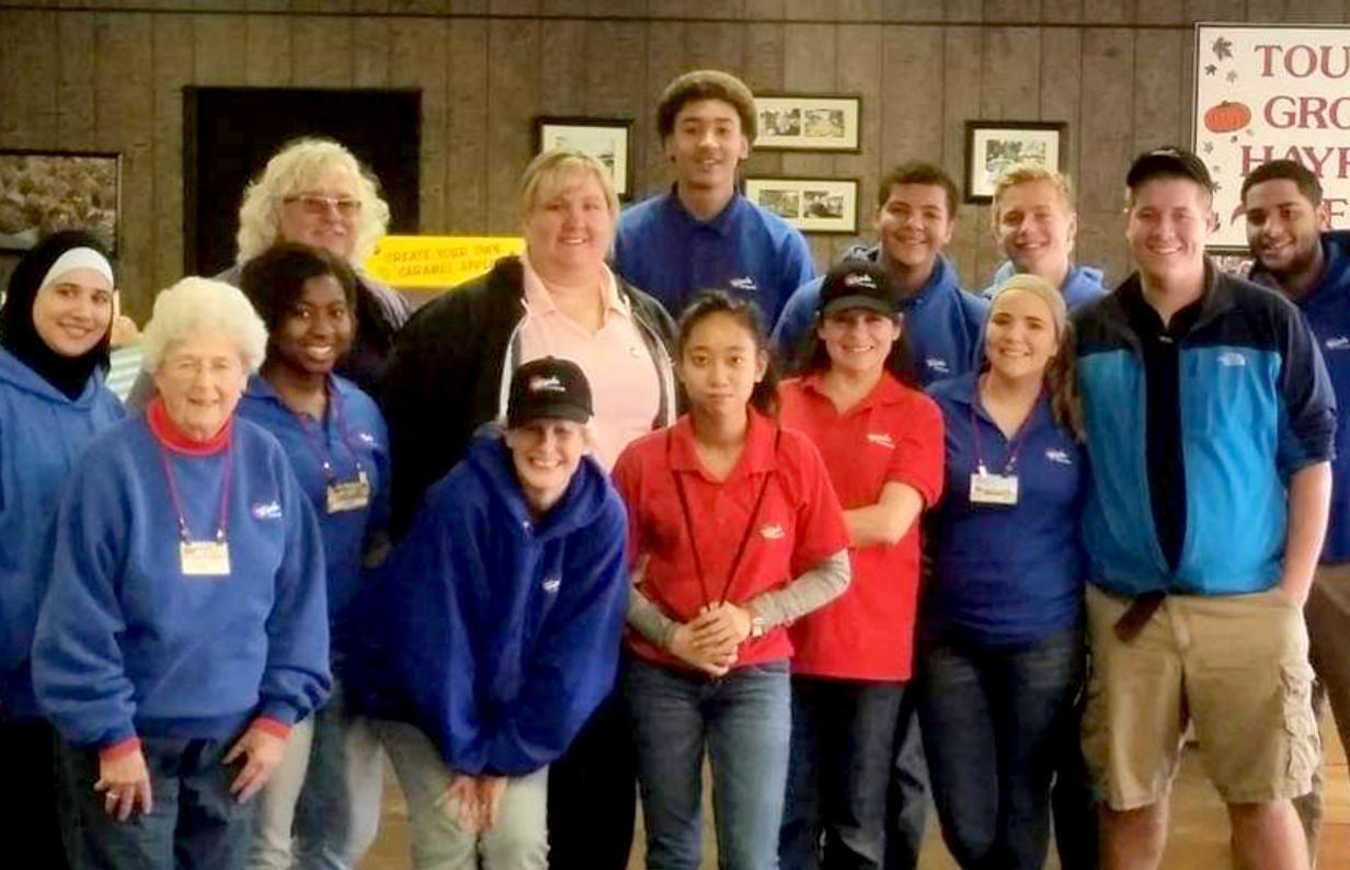 Group photo of the Wiard staff.