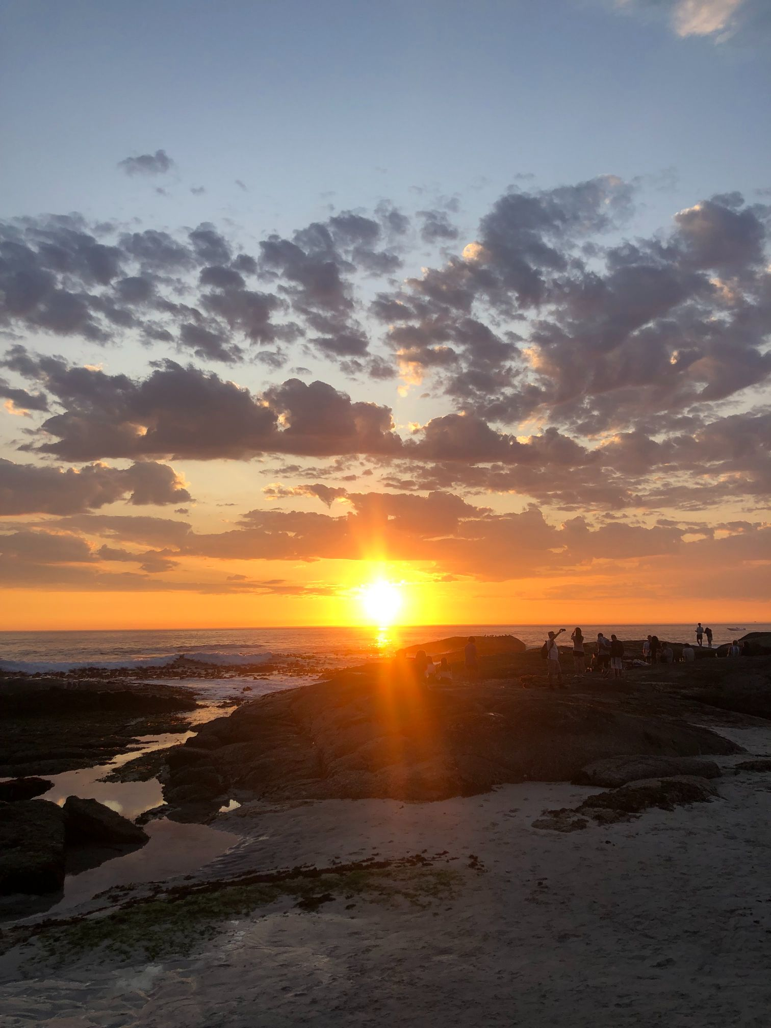 Sunset Camps Bay beach Cape Town