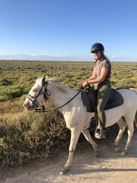 Horse riding in camargue france