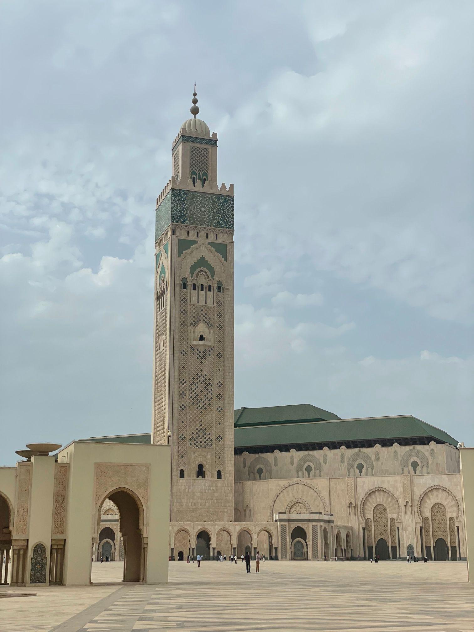 mosque hassan 2 casablanca morocco