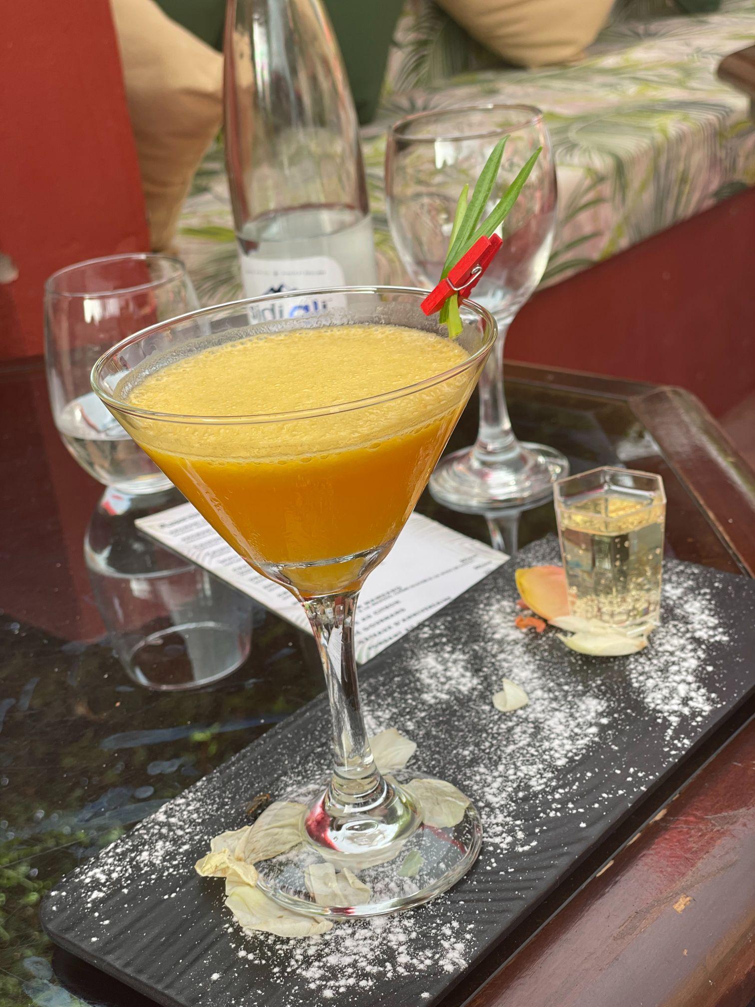 fancy cocktail marrakech morocco dar soukkar
