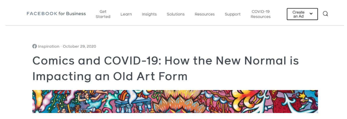 COVID headline