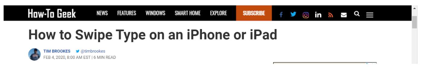 how to geek headline