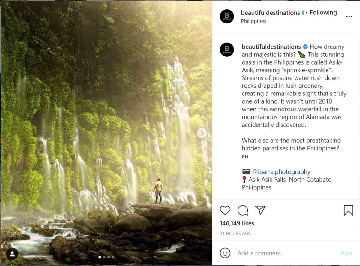 Beautiful Destinations captions