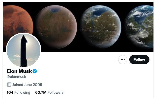 Elon Musk Verified on Twitter