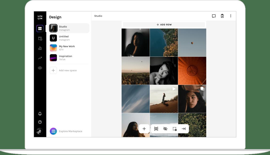 Cloud desktop interface