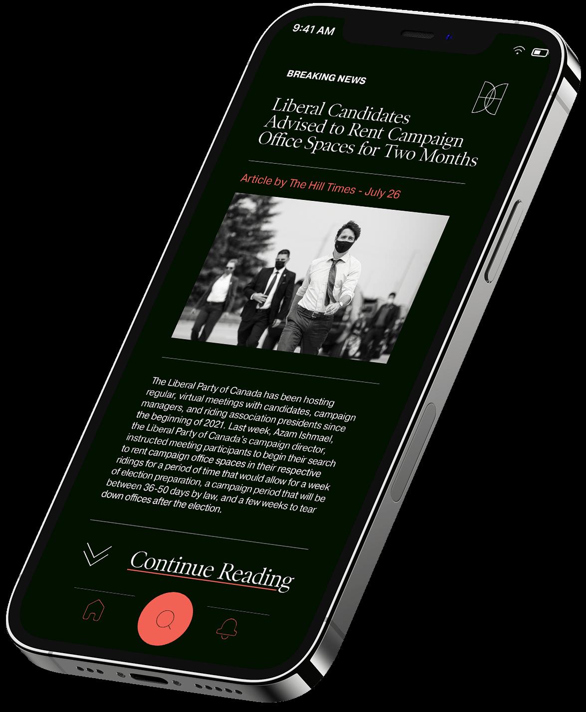 Delphic research mobile