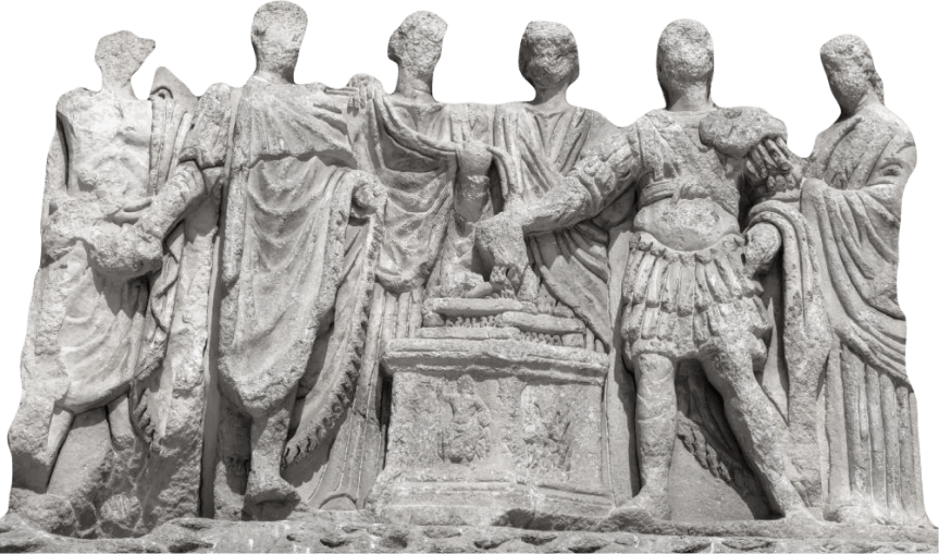 Arch of Galerius (or Kamara) and Rotunda in Thessaloniki - Grecee