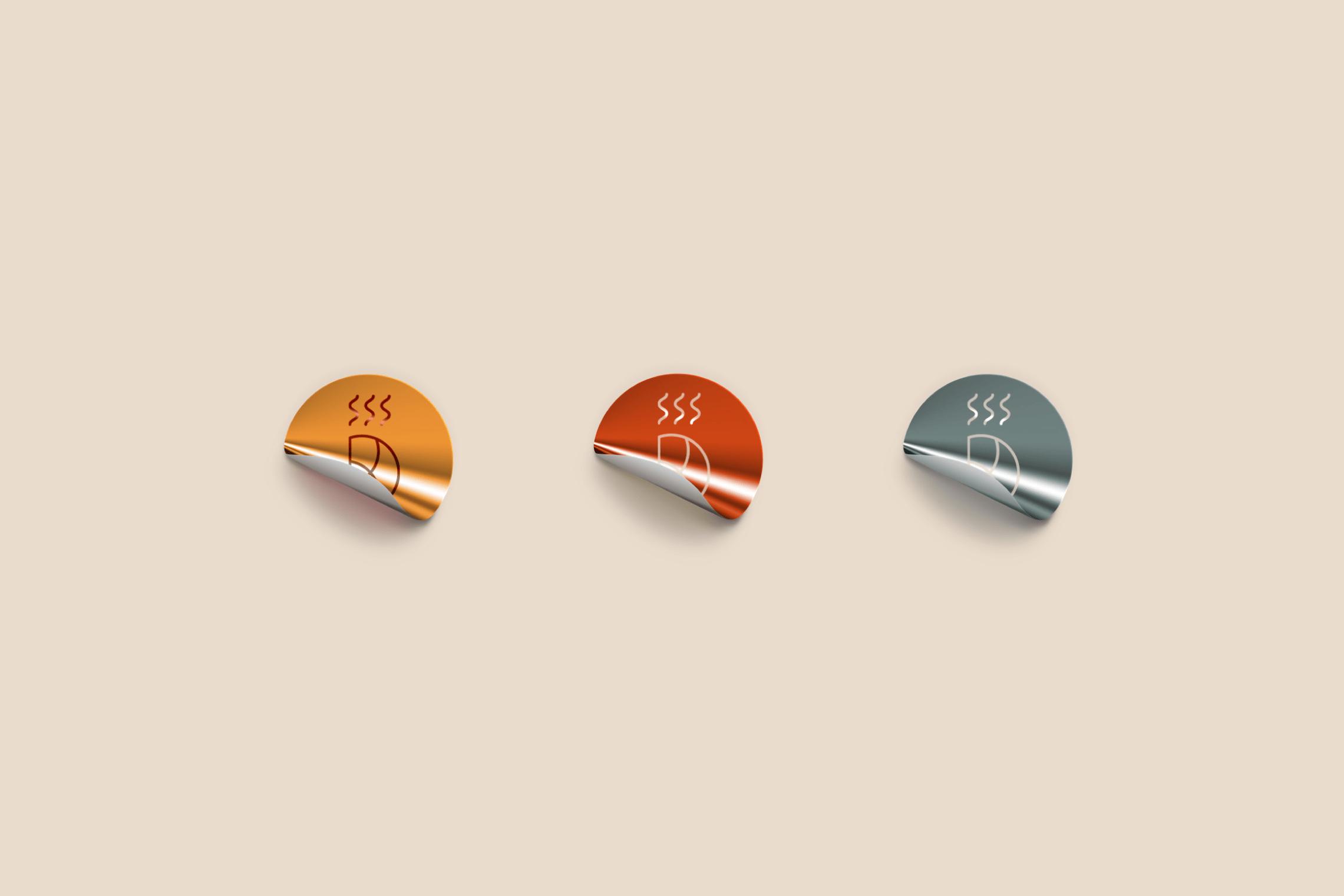 Pan - identity - logo - classic - postres - coffee - baroque
