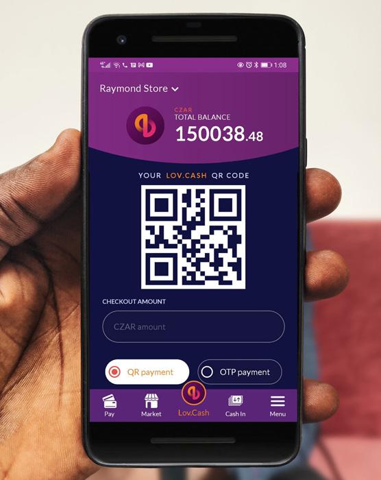 lov.cash Mobile App