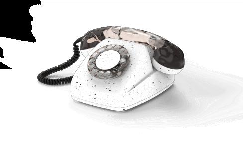 A rotary phone
