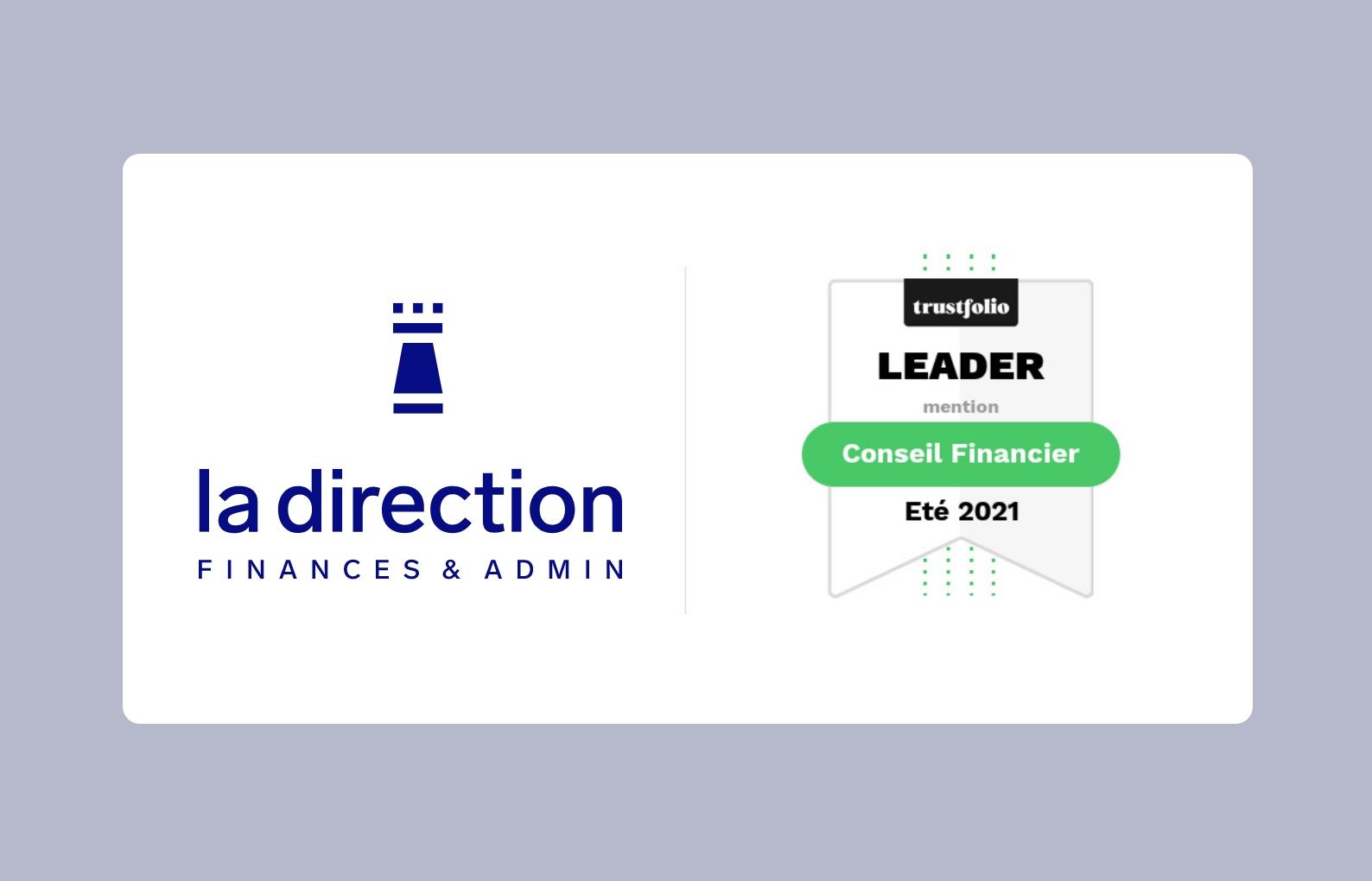 🎉 La Direction Leader en Conseil Financier sur Trustfolio été 2021