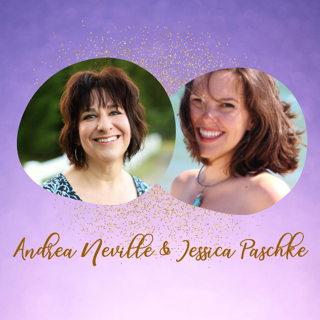 Andrea and Jessica head shots