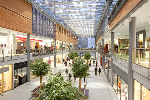 Commercial cleaning mall image