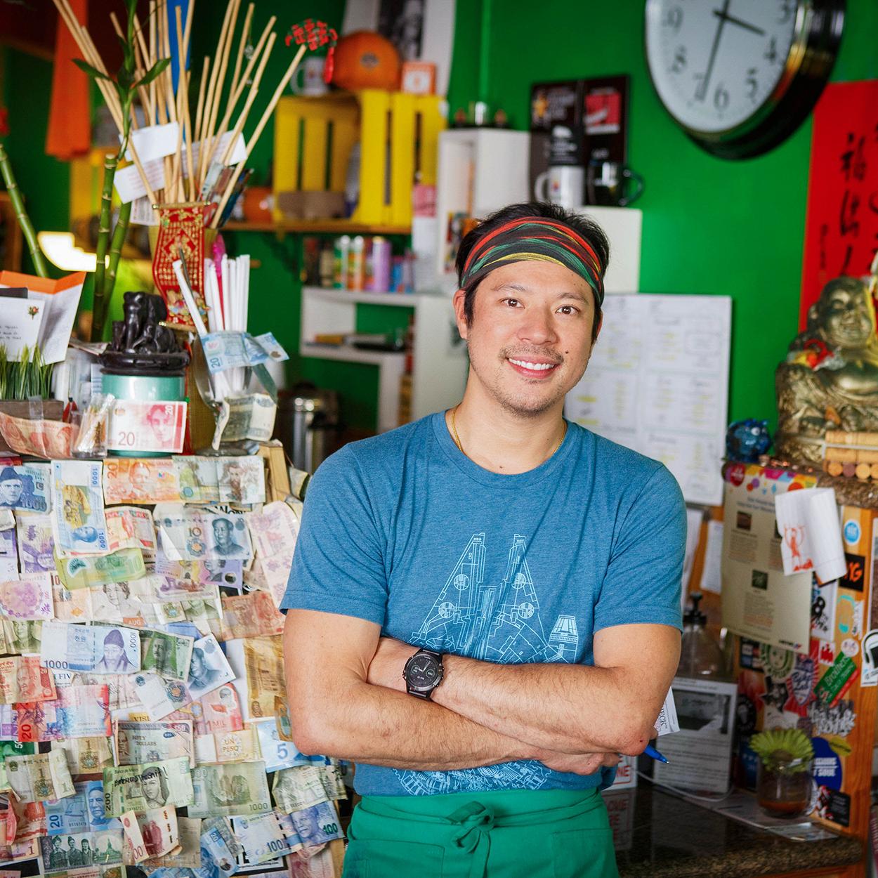 Cafe TH owner Minh