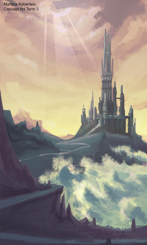 Castle at Sea