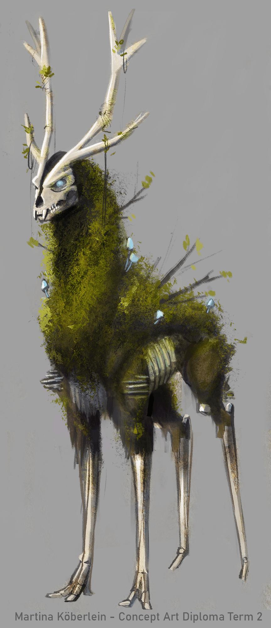 VANAS Concept Art Creature Design 1
