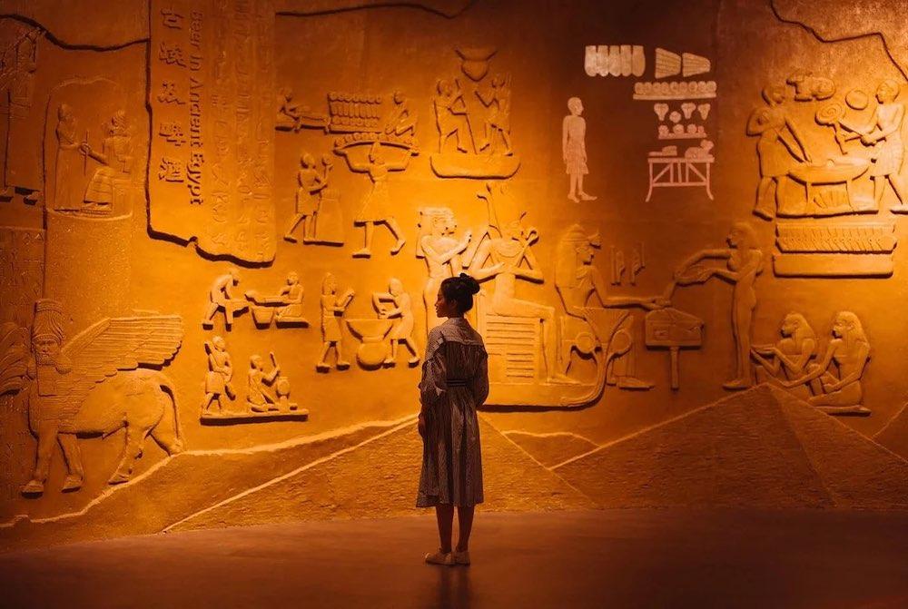 Fiche métier : archéologue - Égypte
