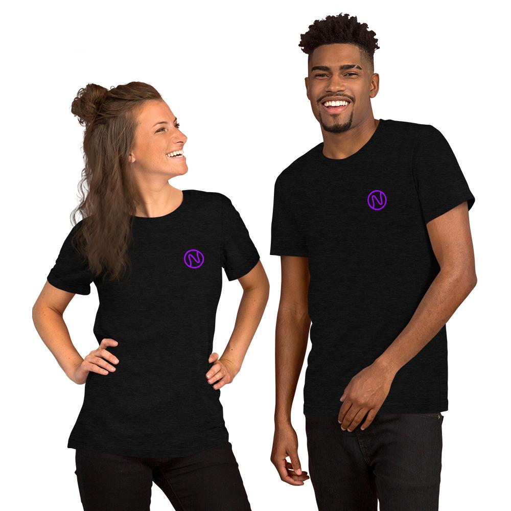 Short-Sleeve Unisex T-Shirt with NFT Tone logo🚀