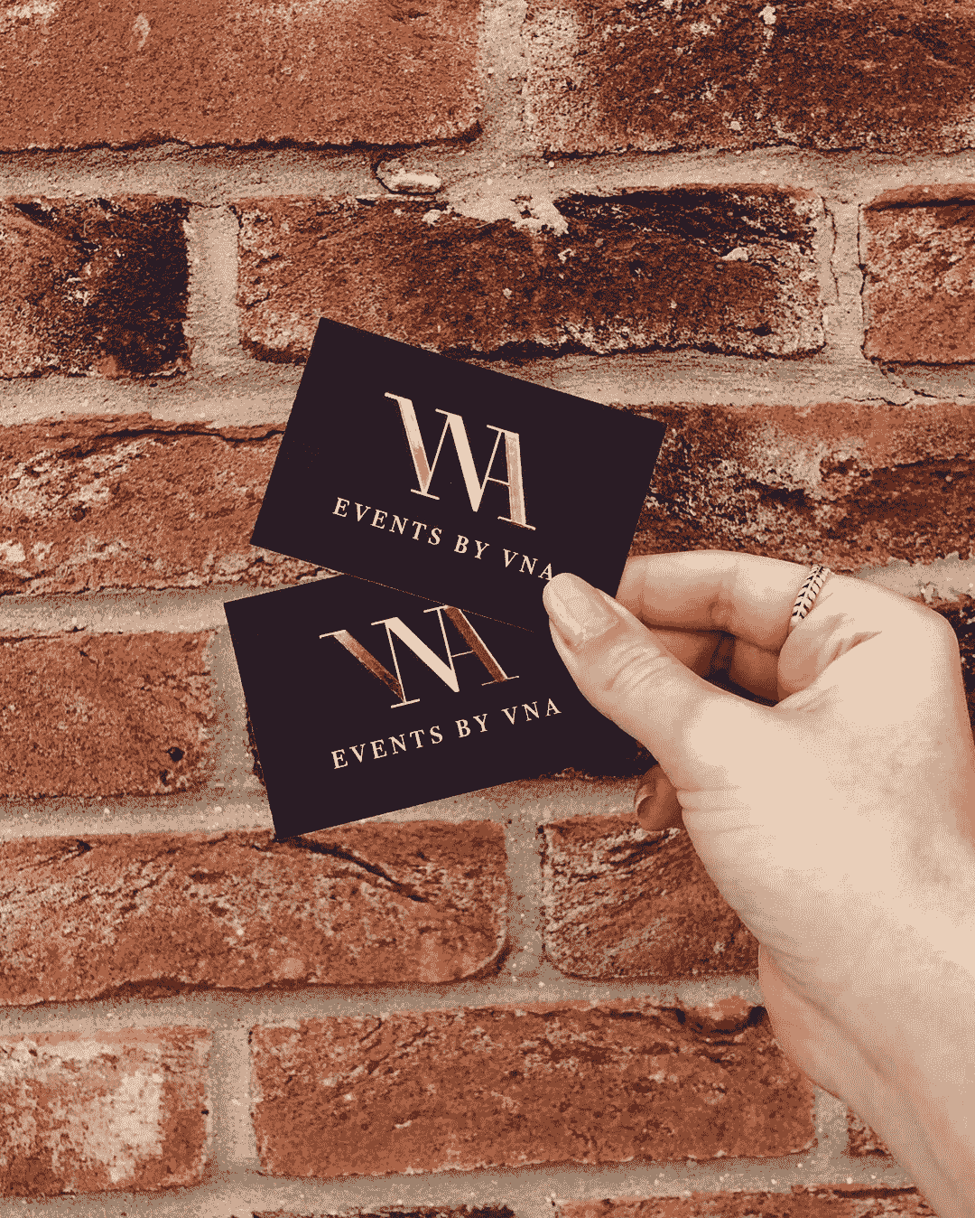 Luxury Events Planner Business Card Colchester