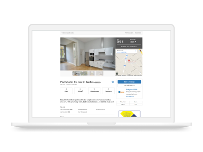 Snapshot of a real estate listing