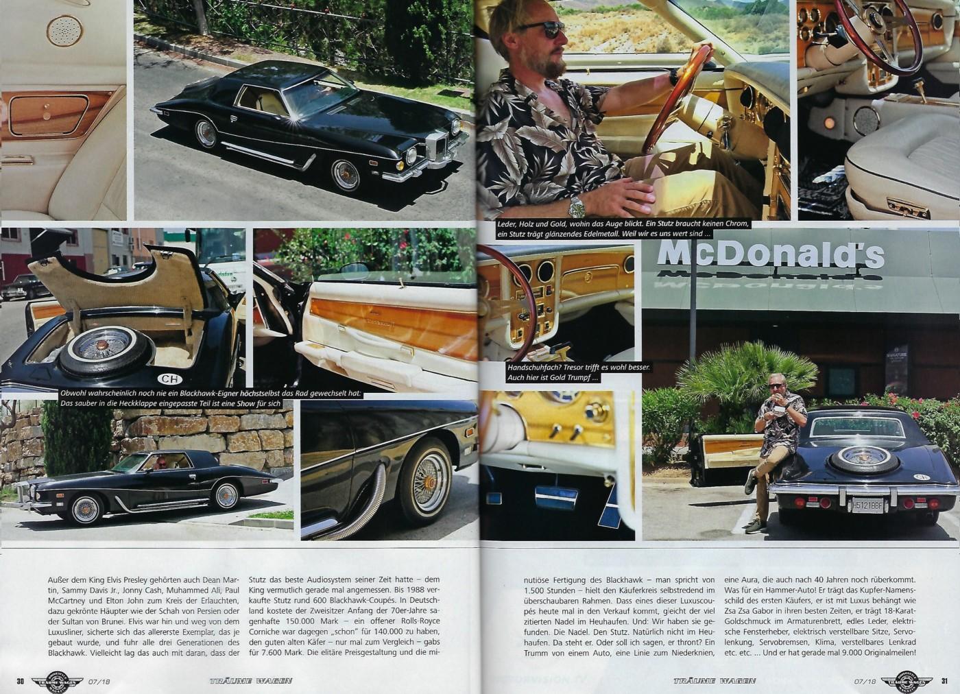 For Sale - 1977 Stutz Blackhawk VI