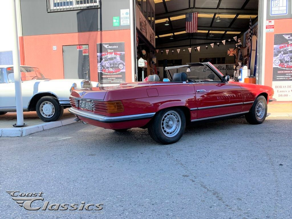 For Sale - 1982 Mercedes 500SL (107)
