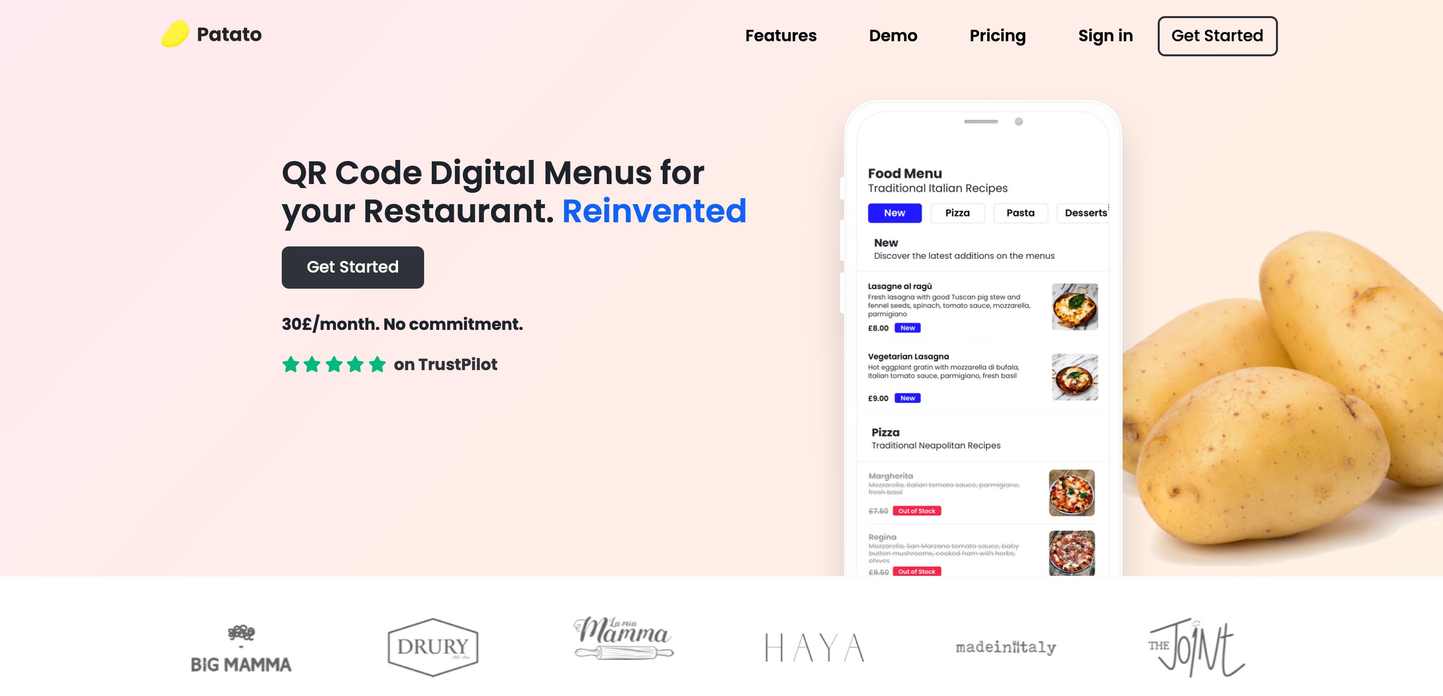 QR code digital menus for your restaurant