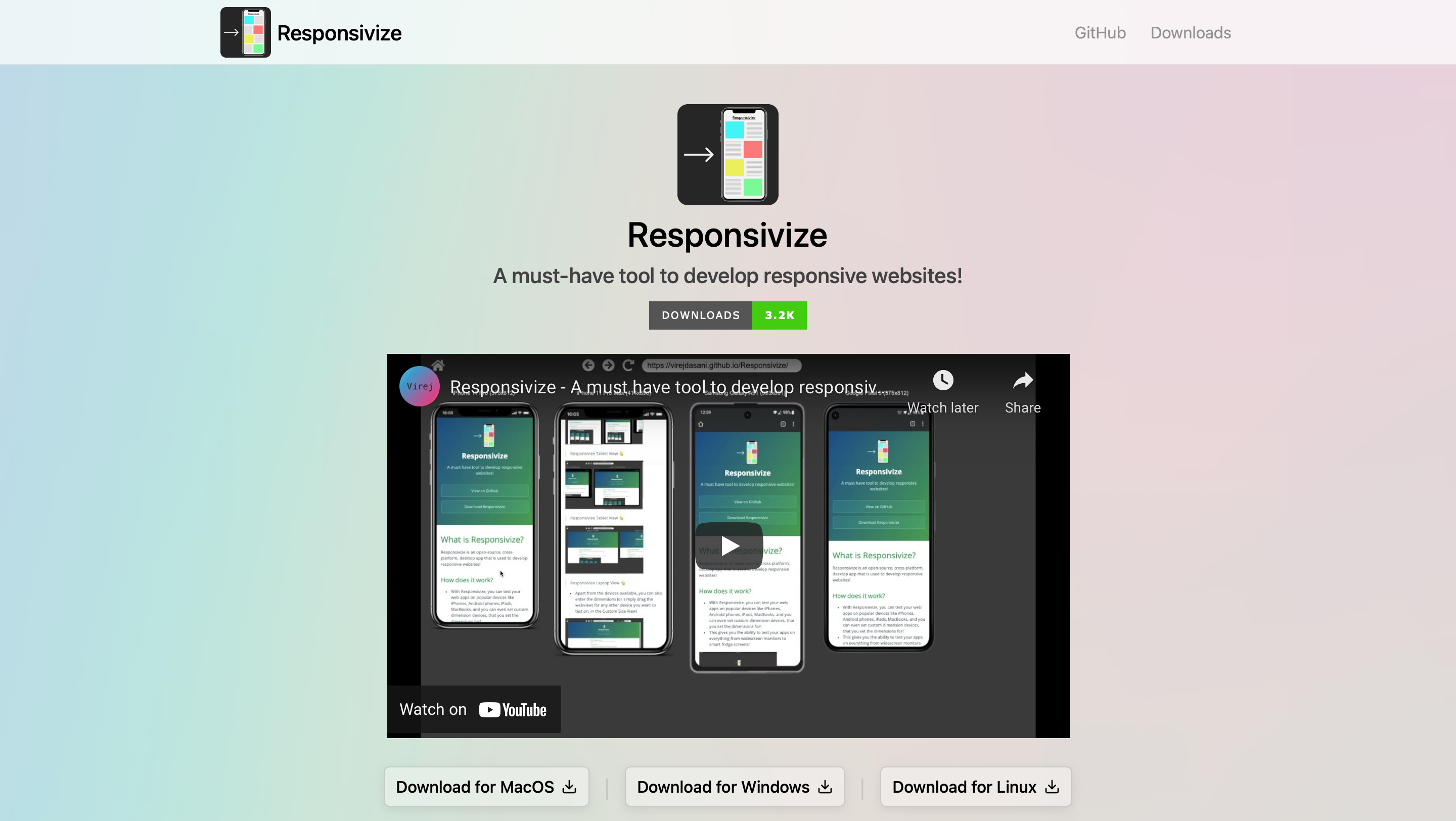 Testing for responsiveness across various devices
