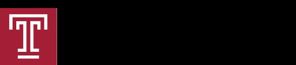 Logo of Temple University's Career Center.