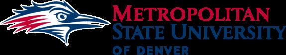Logo of the Metropolitan State University of Denver.
