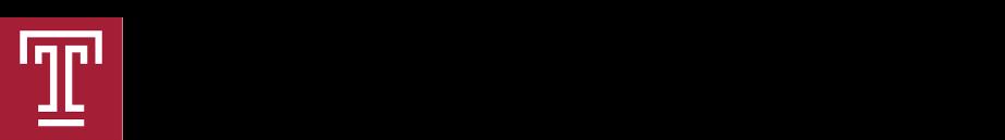 Logo of Temple University's Fox School of Business.