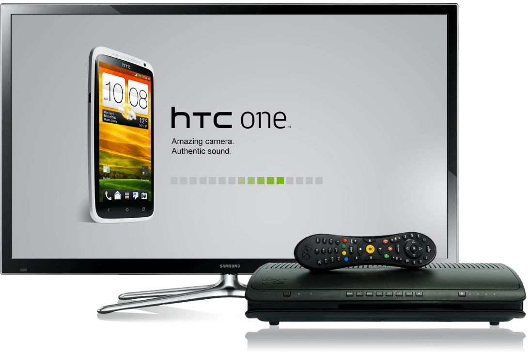HTC TV and TiVo Devices